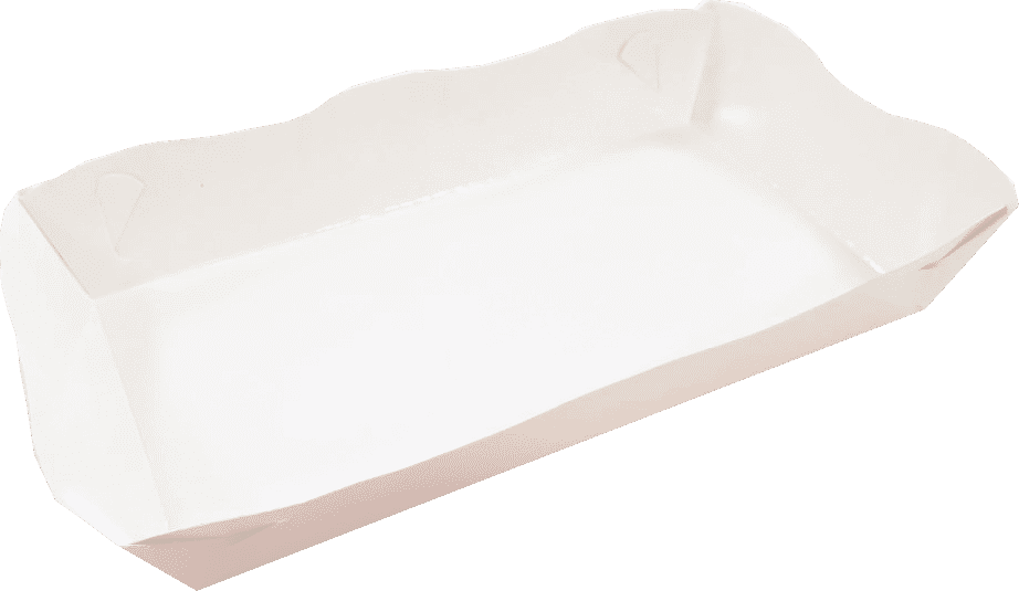 Tavite fast-food Albe (baza mica -8x16 / baza mare 11x19 cm) x 2.5 cm