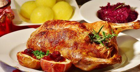 блюда з качки в духовці