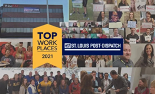 St. Louis Post-Dispatch Names Wise F&I A Winner Of The  Greater St. Louis Top Workplaces 2021 Award