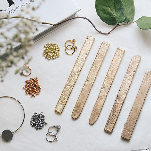 Custom jewelry ingredients gold bars alloy