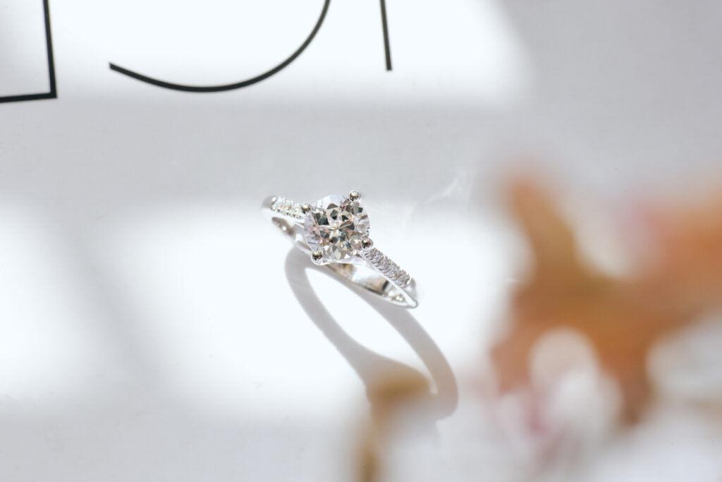 White Topaz Ring