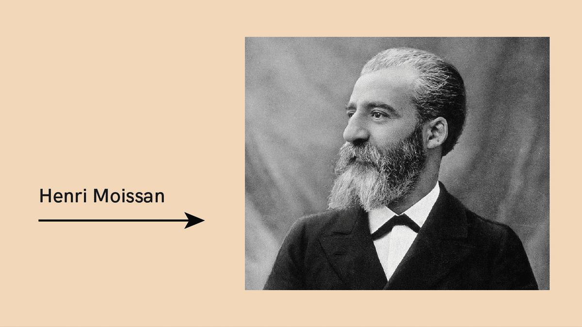 Henri Moissan founder of moissanite