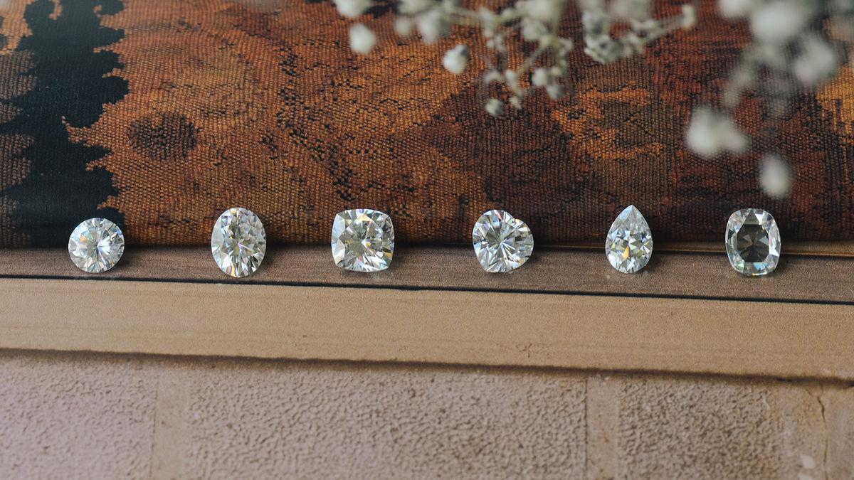 moissanite different shapes