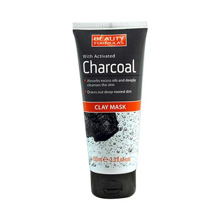 Beauty Formulas Charcoal Clay Mask- 100ml