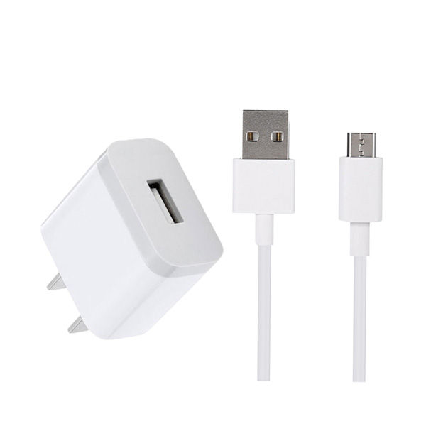 Xiaomi 5V 2A USB Charger with Micro USB Cable - White