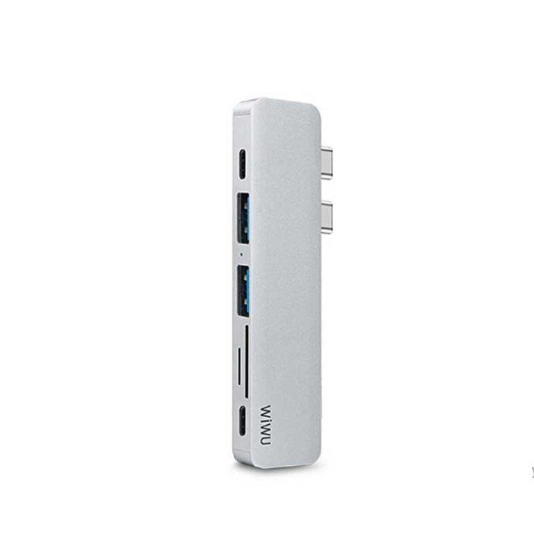WiWU T8 USB Type C Hub 7 in 1 Multi functional Hub