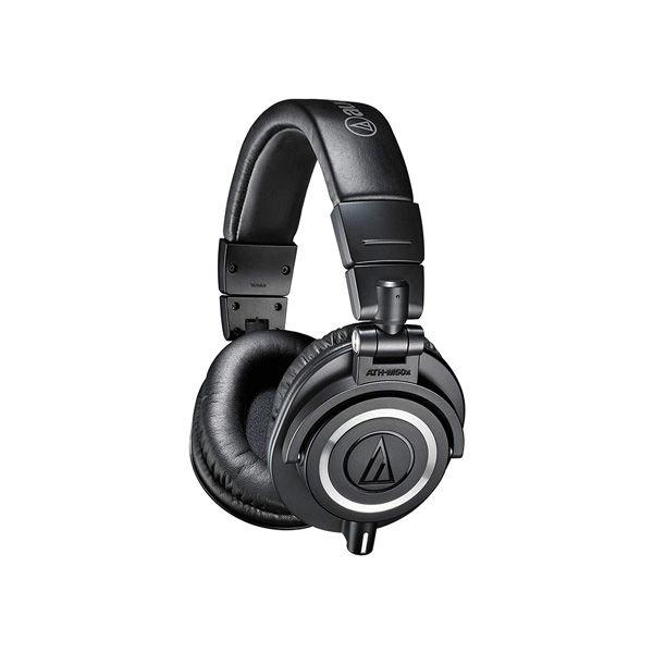 Audio-Technica-ATH-M50x-Professional-Studio-Monitor-Headphones