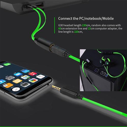 Plextone G30 In-Ear Gaming Headphones