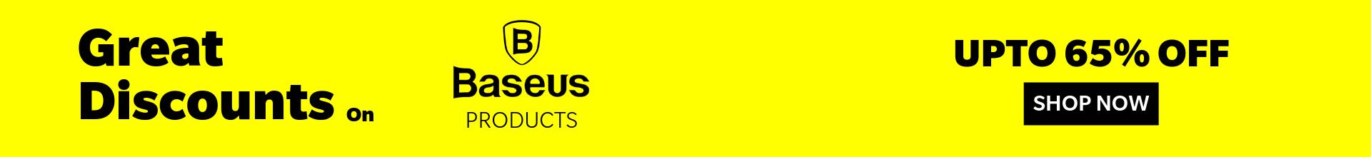 Baseus Discount Web Banner 1920×220