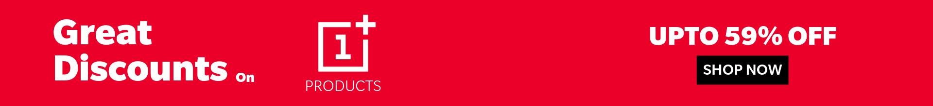 OnePlus Discount Web Banner 1920×220