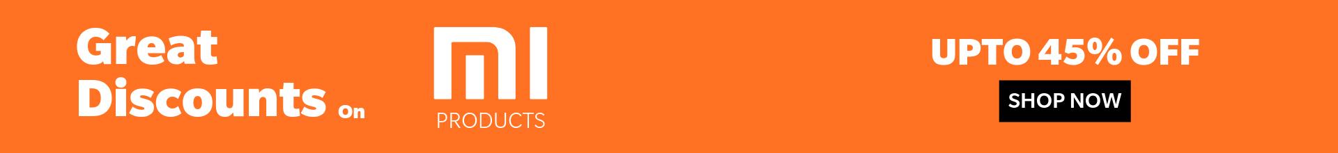 Xiaomi Discount Web Banner 1920×220