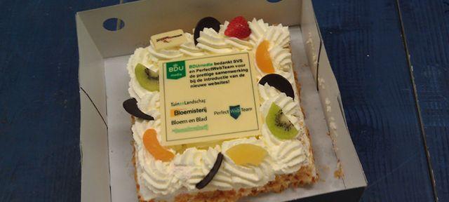 Bdumedia taart