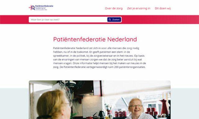 Ontwerp patientenfederatie