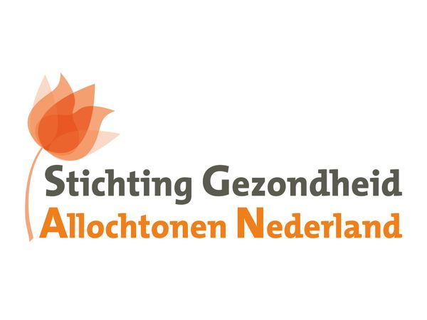 Logo Stichting Gezondheid Allochtonen Nederland