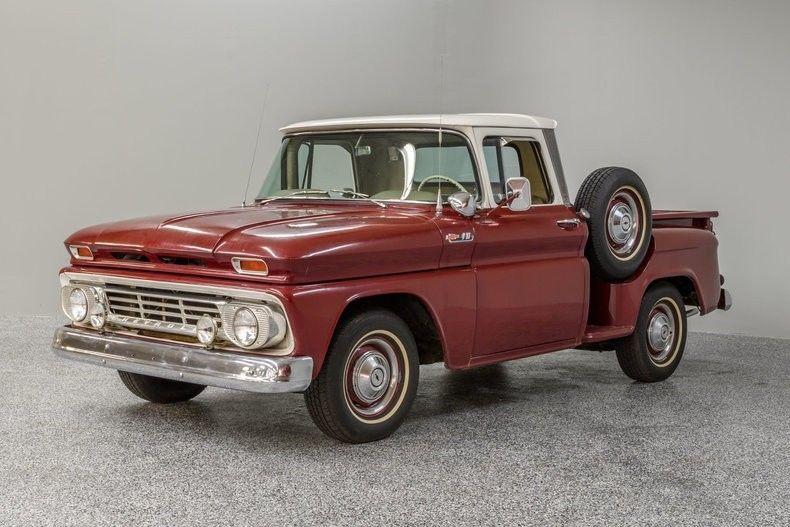 rebuilt engine 1962 Chevrolet C 10 pickup vintage