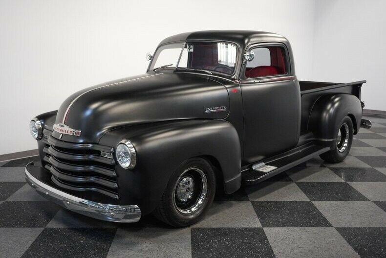 mean-looking 1947 Chevrolet Pickup vintage