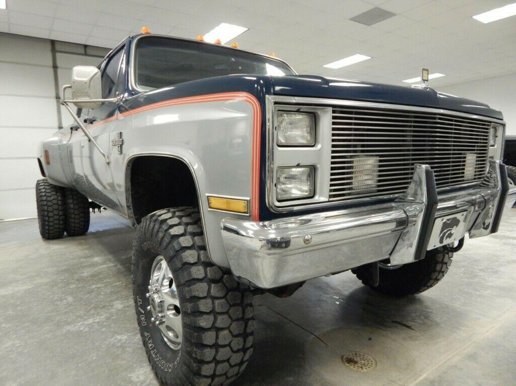 502 big block 1985 Chevrolet C/K Pickup 3500 Silverado vintage