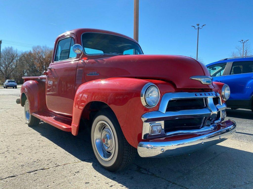 updated rear end 1954 Chevrolet 3100 5 Window Pickup vintage