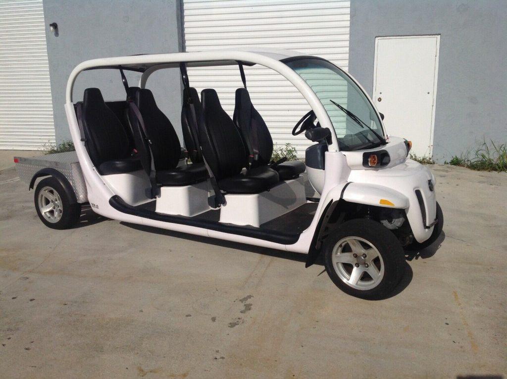 limousine 2015 Polaris gem E6 golf cart