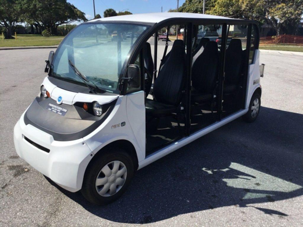 2017 Polaris Gem E6 Utility 6 Passenger golf cart [upgraded for comfort]