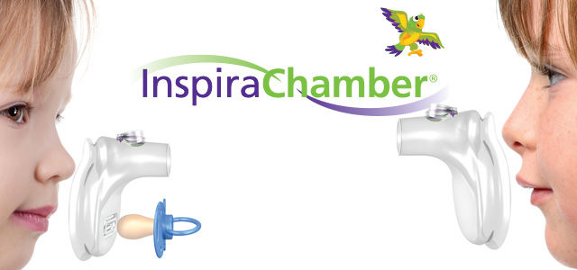 advertisement for inspirachamber pharmaceutical product