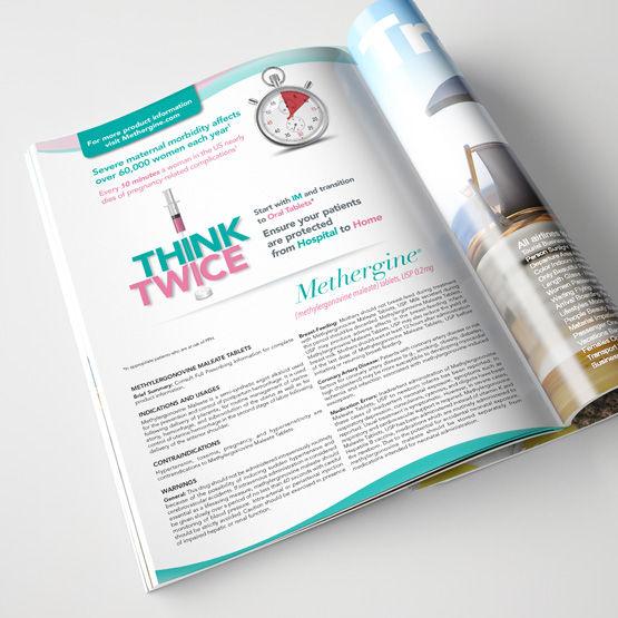 methergine full page magazine advertisement