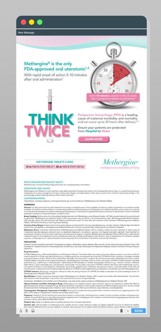 methergine website design