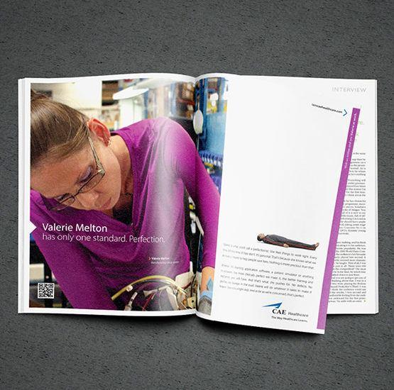 cae healthcare lmagazine advertisement