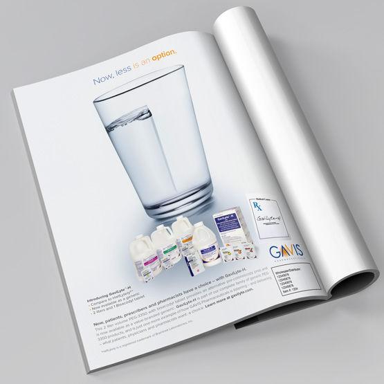 gavilyte print advertisement in magazine