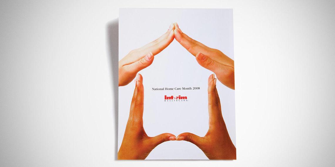 interim healthcare print advertisement