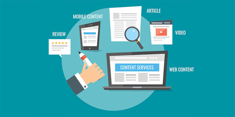 Content Marketing Components of non-personal promotion