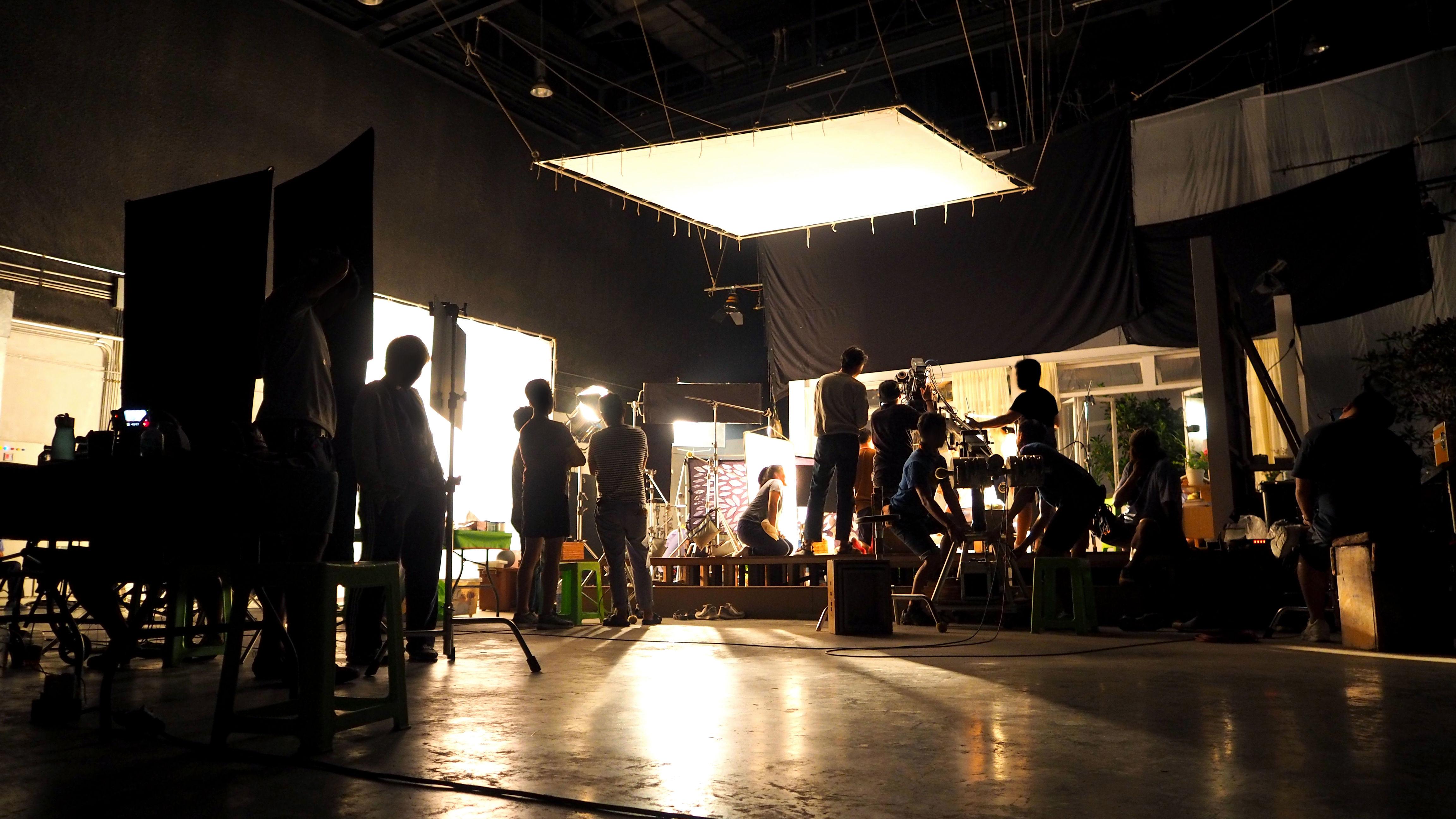 television production set