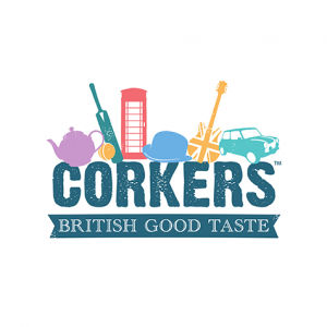 Corkers food service logo