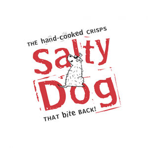 Salty Dog food service logo