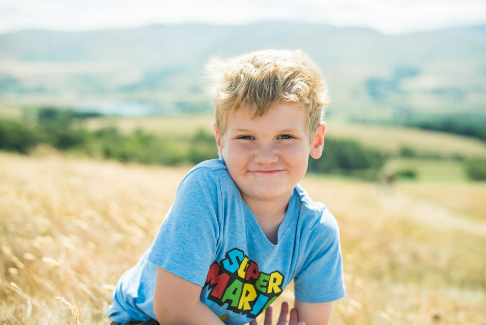 kids photography, Binsey Fell,