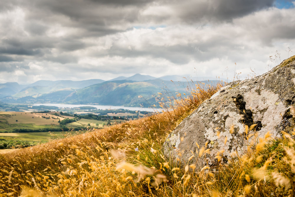 Views of Bassenthwaite from Binsey, Lake District photographers