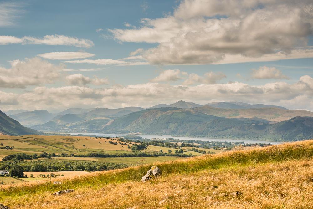 Views from Binsey to Bassenthwaite, Lake District photographers