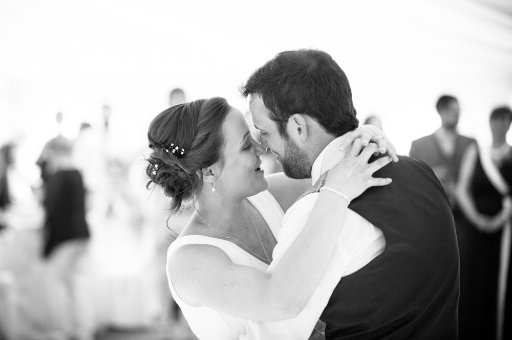 Bride and groom during first dance, Ringwood Hall weddings, Sheffield wedding photographer