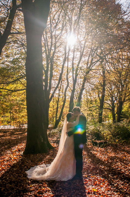 Sheffield rock the dress in Ecclesall Woods