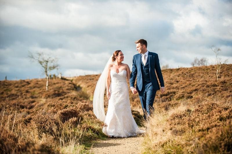 Surprise View wedding walk in Peak District