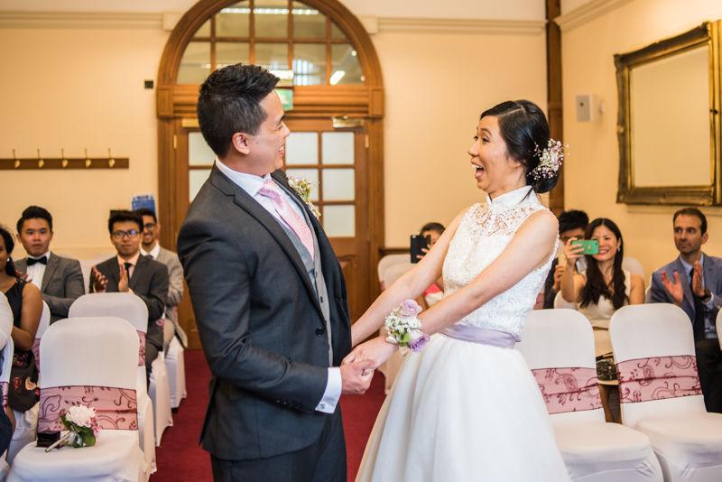 Happily married! Carmen & Chris' Sheffield wedding