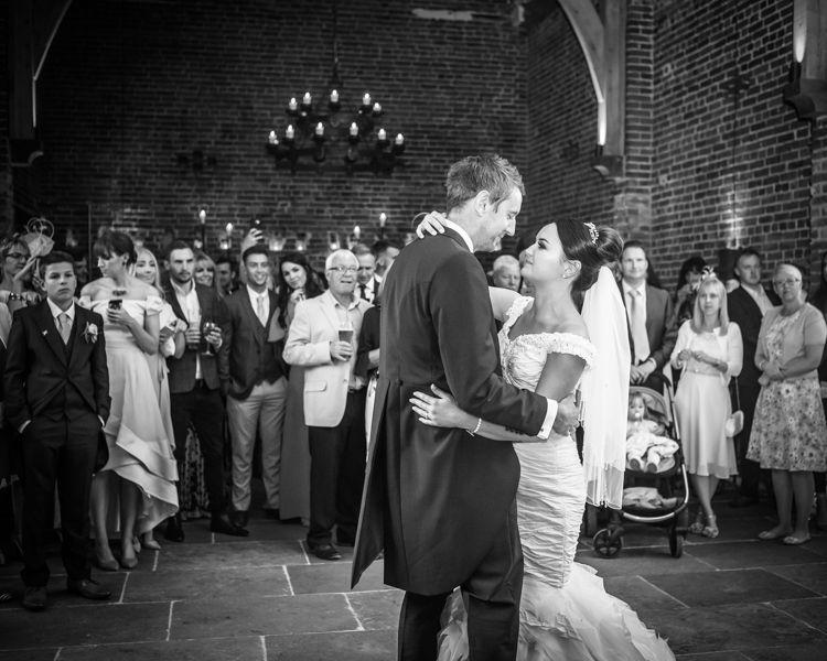 First dance wedding photographs in Sheffield for Joelle & Scott