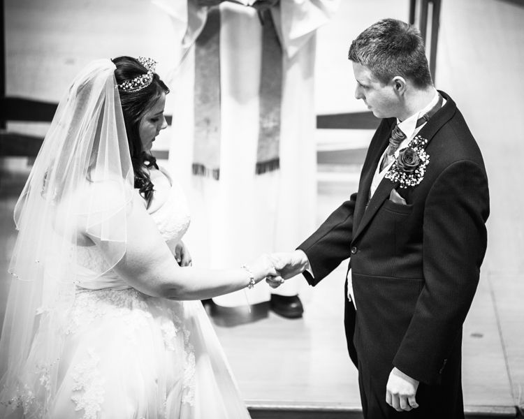 Sheffield wedding ring exchange photos