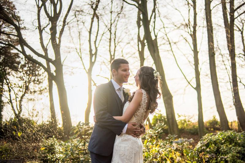 Whirlowbrook Hall wedding grounds