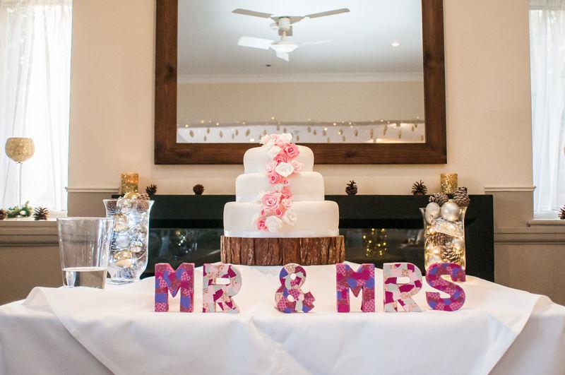 Wedding cakes Sheffield wedding photographers Whirlowbrook Hall