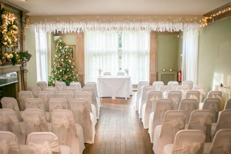 Whirlowbrook Hall Christmas weddings