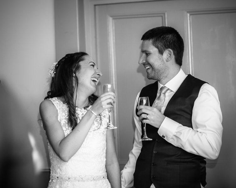 Cheers Sheffield wedding photographers Whirlowbrook Hall