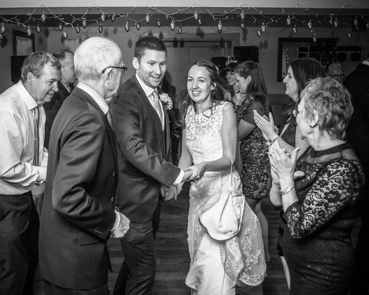 Wedding dancing Sheffield wedding photographers Whirlowbrook Hall