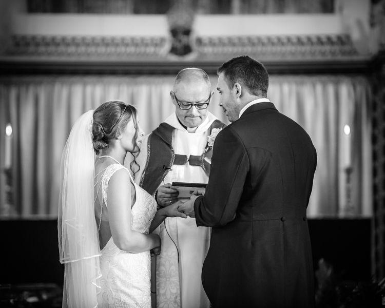 Ring exchange Hellaby Hall wedding photographers Rotherham