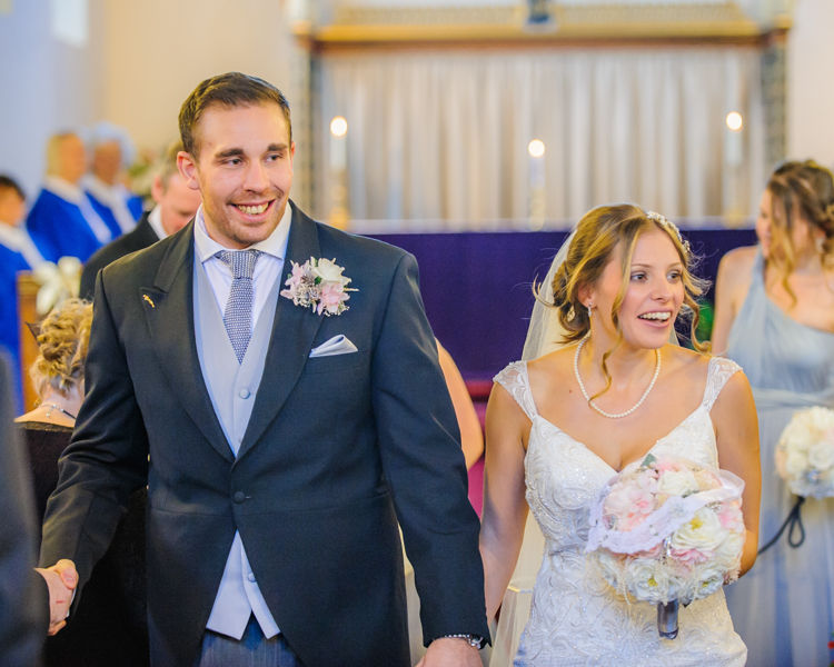 Just married Hellaby Hall wedding photographers Rotherham